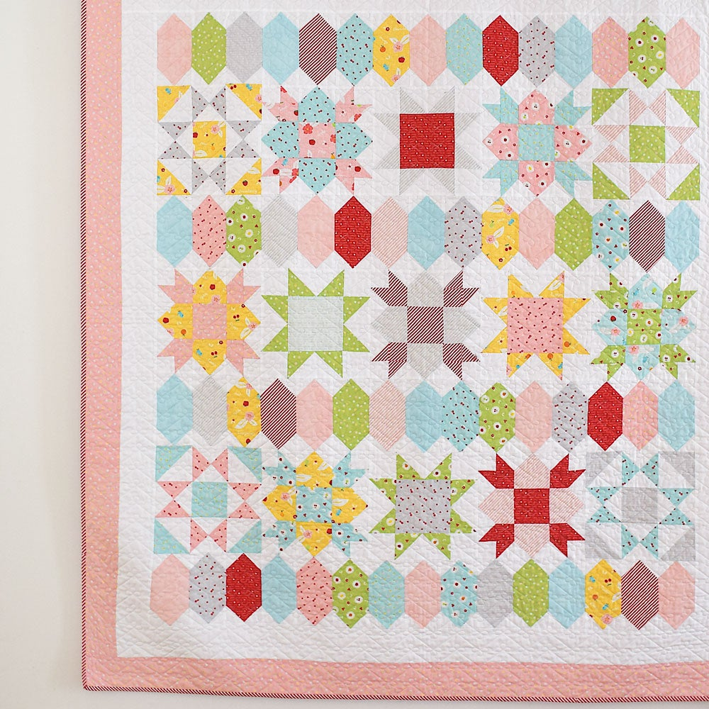 Sweet Stars Paper Pattern She Quilts Alot