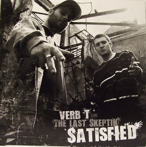 "Image of Verb T & The Last Skeptik – Satisfied EP 12"" vinyl"