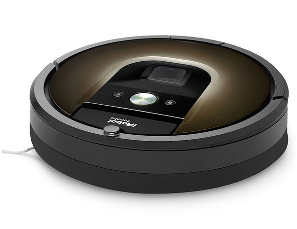 Irobot Roomba 980 Automatic Robotic Vacuum Cleaner W Free Overnight Delivery