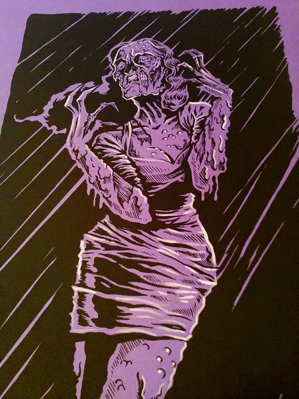 "Image of ""Acid Bath"" with Hand Embellishments"