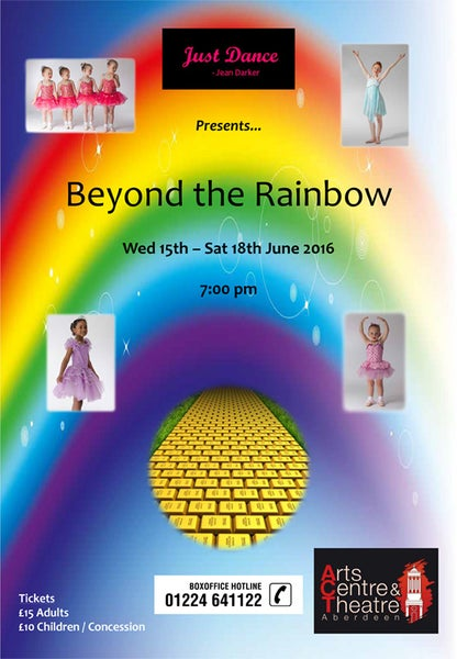 Image of Beyond the Rainbow - Just Dance, Jean Darker