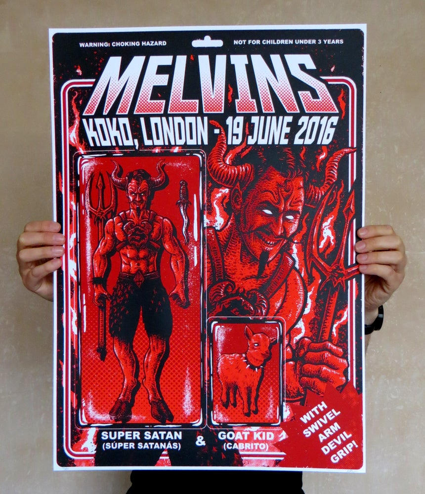 Image of Melvins Koko, London 2016 Print