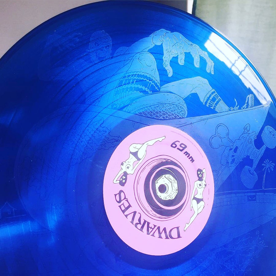 "Image of The Dwarves - Radio Free Dwarves 12"" LP w/ Etched B-Side (Limited Edition!)"