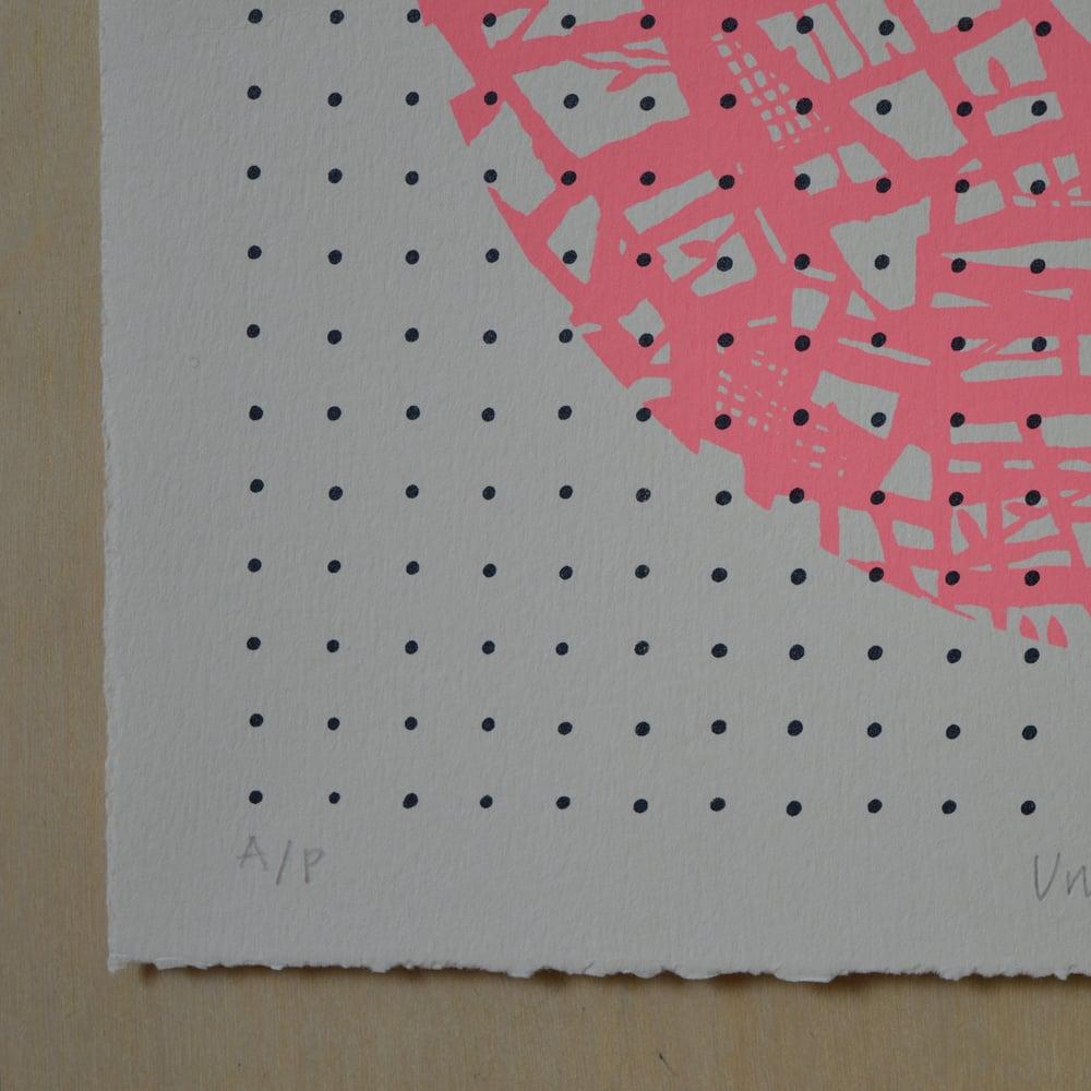 Image of 'Untitled Pink' screenprint
