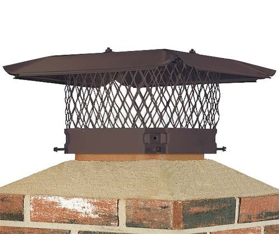 Image of CHIMNEY CAP & DAMPER INSTALLATION