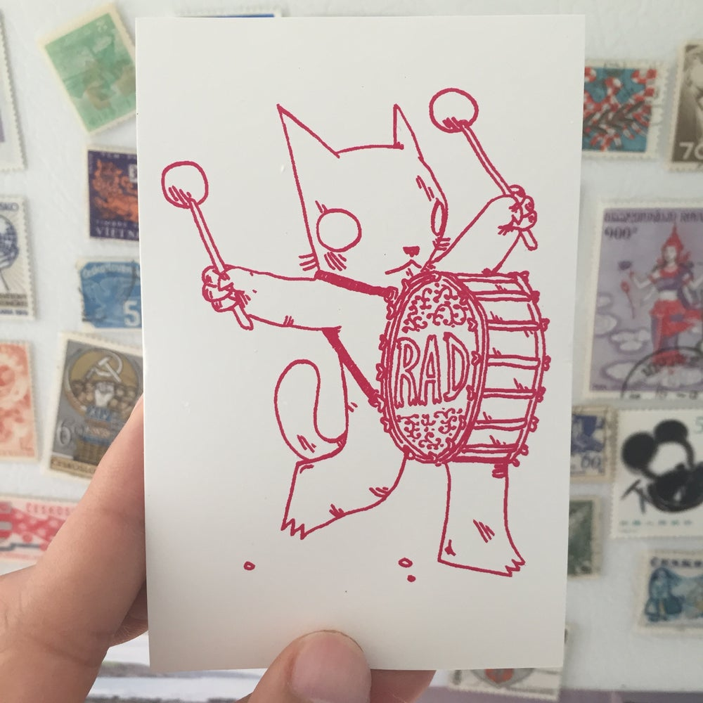 Image of Rad Drummer Sticker