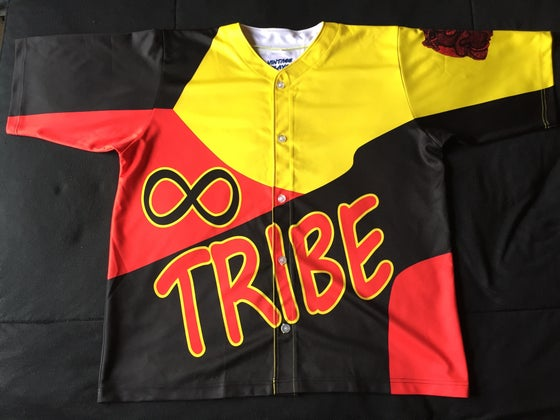 "Image of Tribe Baseball Jersey ""KC"""