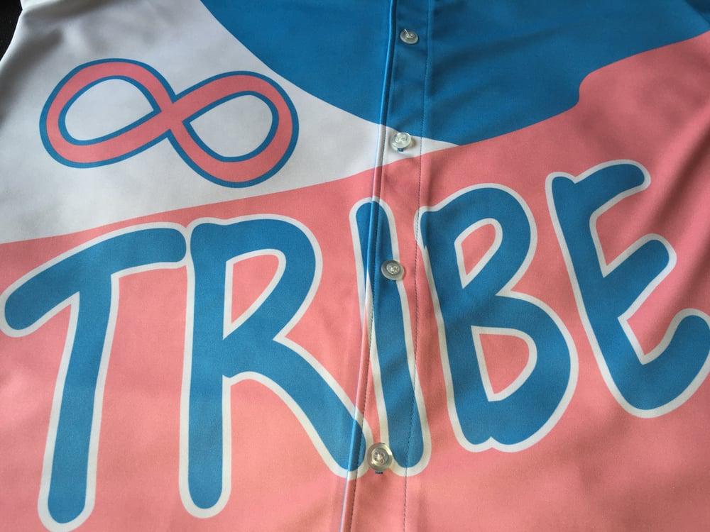 "Image of Tribe Baseball Jersey ""Cotton Candy"""