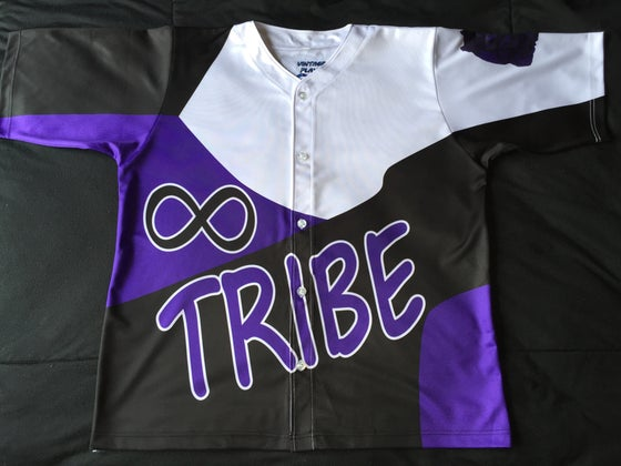 "Image of Tribe baseball jersey ""Colorado Rockies"""