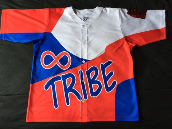 "Image of Tribe baseball jersey ""Kenny Anderson"""