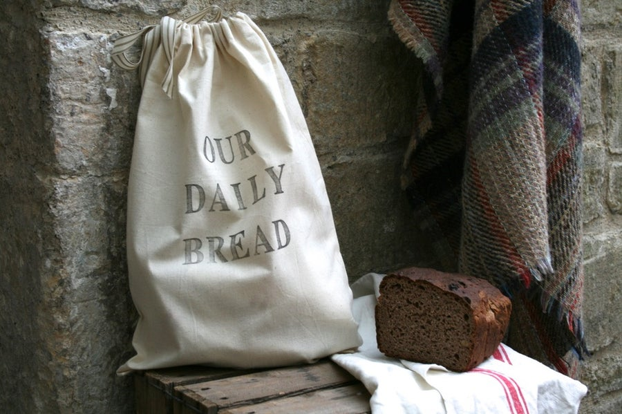 Image of Hand printed bread bag