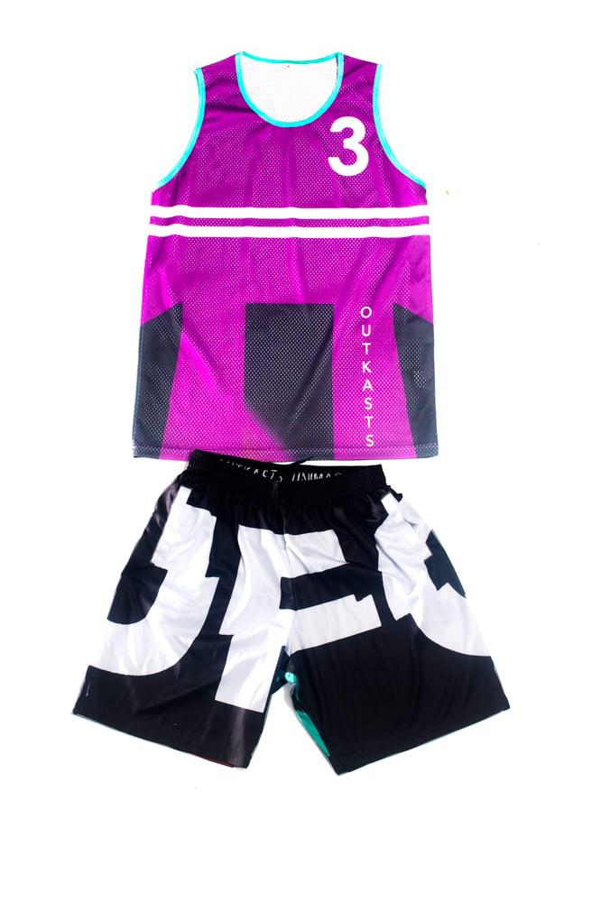 Image of UFO Shocker Tank & Shorts Set
