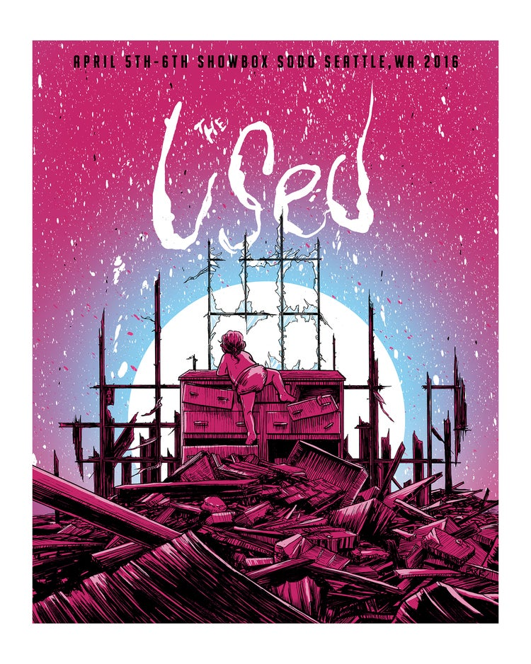 Image of The Used at Seattle Showbox Sodo