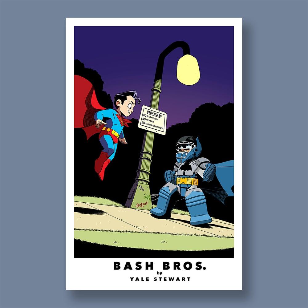 "Image of ""Bash Bros."", 11"" x 17"" Signed Print"