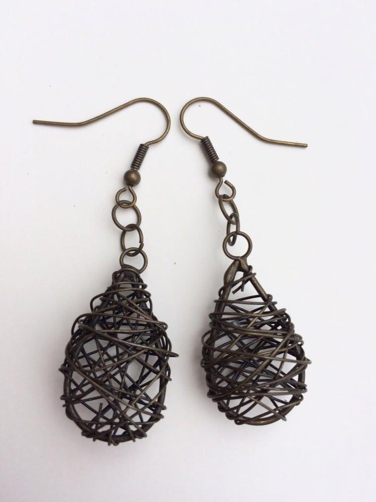 Image of Birds Nest Earrings