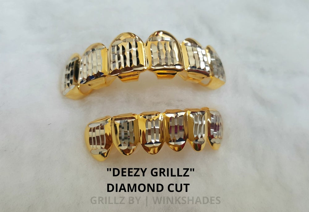 Image of DREEZY - GRILLZ DIAMOND CUT SET