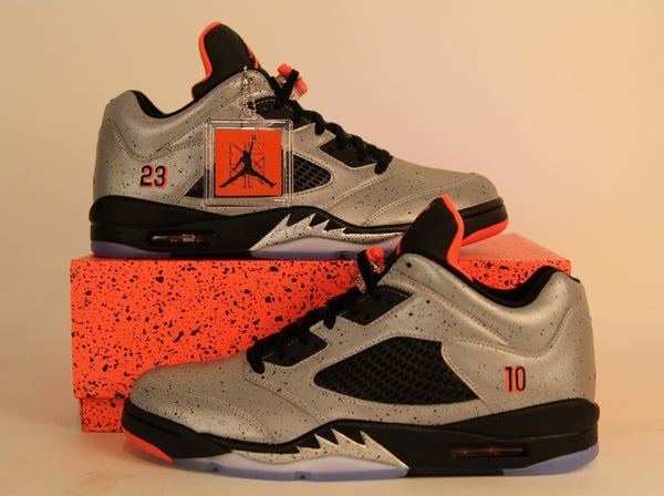 Image of Air Jordan 5 (V) Retro Low Neymar
