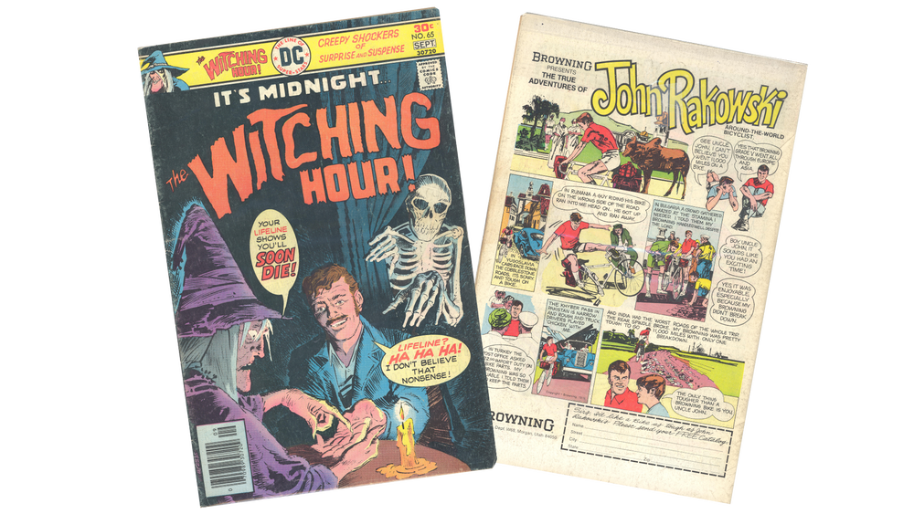 Image of IT'S MIDNIGHT... THE WITCHING HOUR -VOL.8, NO.65