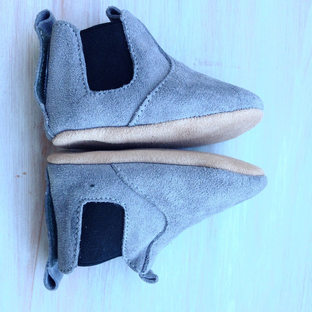 Image of Aussie Work Bootie - Grey suede
