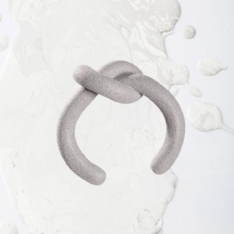 Image of ZOEE x ITUM grey round bangle