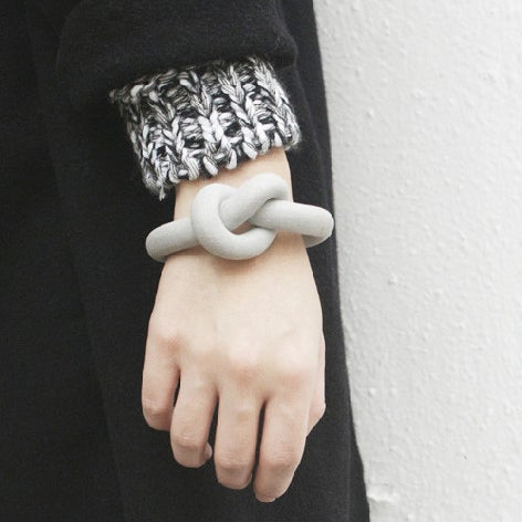 Image of ZOEE x ITUM grey round bangle