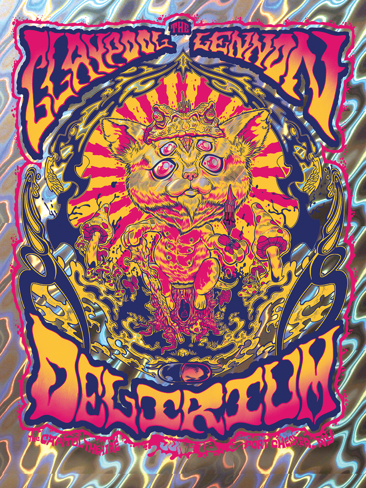 Image of The Claypool Lennon Delirium , June 2016 Print