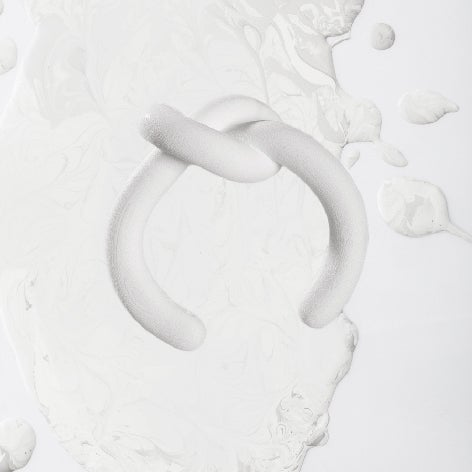 Image of ZOEE x ITUM white unrope 3D printing bangle