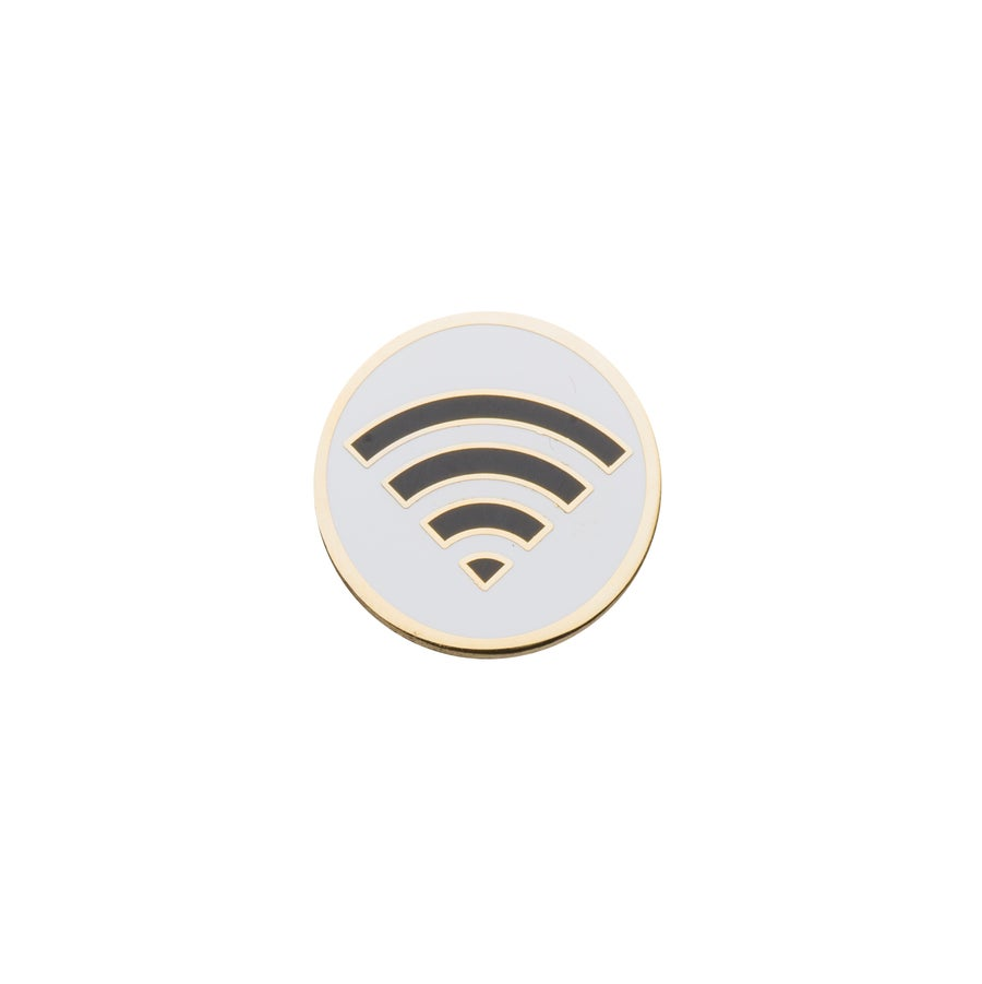 "Image of House Wifi Sigil 1"" Lapel Pin"