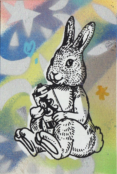 Image of bunny card 12