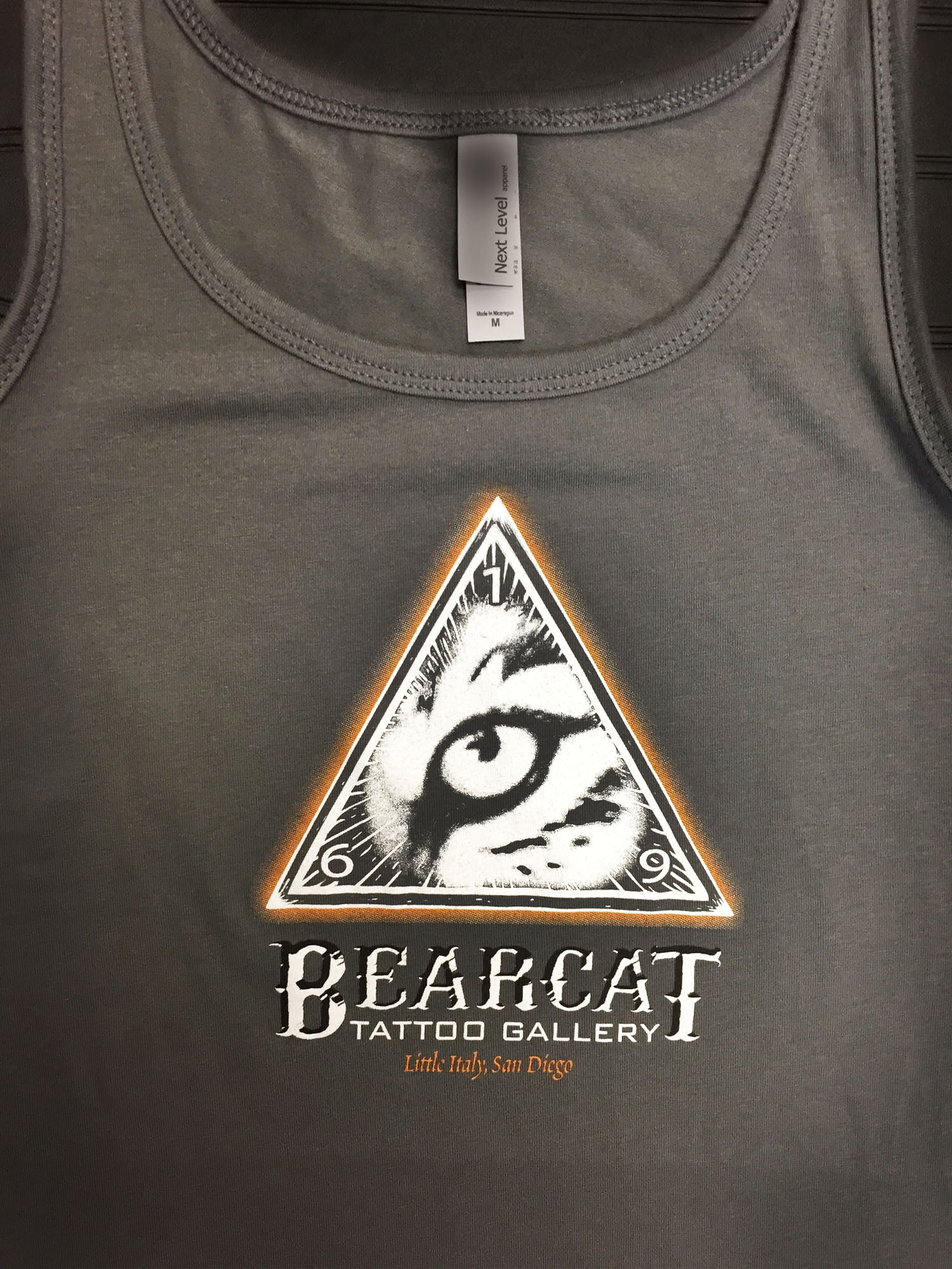 Womans Tank Bearcat Logo Bearcat Gallery