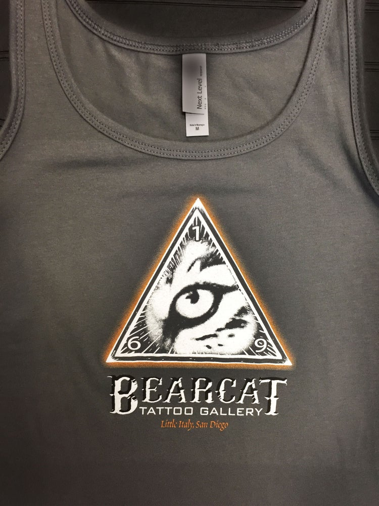 Womans Tank Bearcat Logo Bearcat Gallery