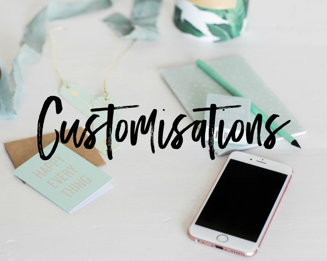 Image of Customisations