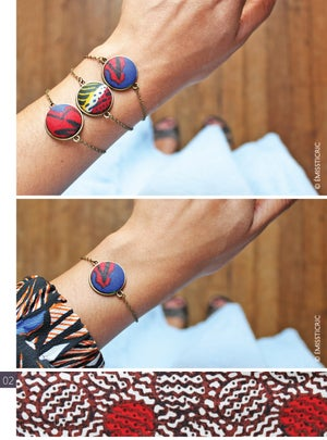 Image of Bourgeons bracelets b