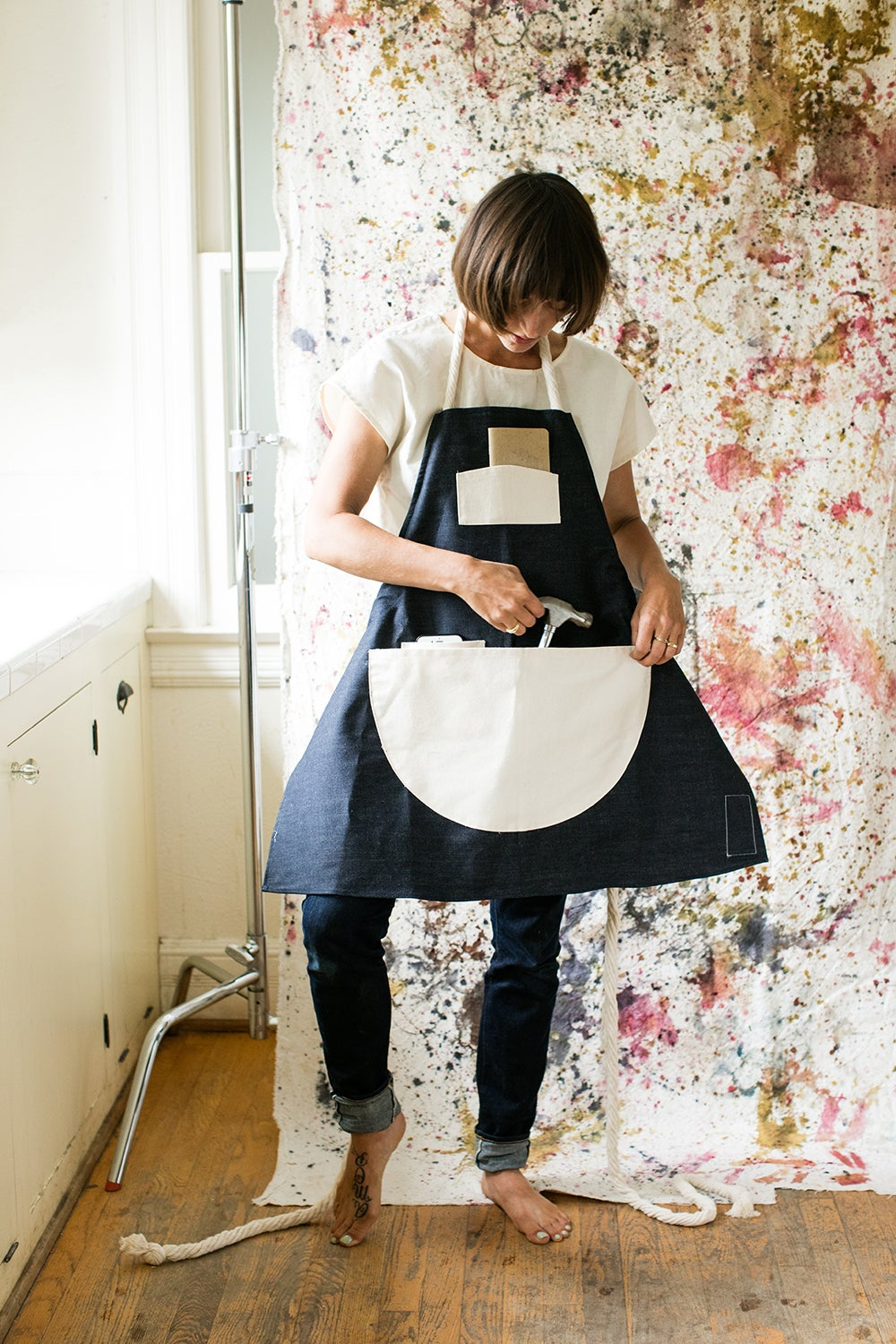 Denim Maker's Apron