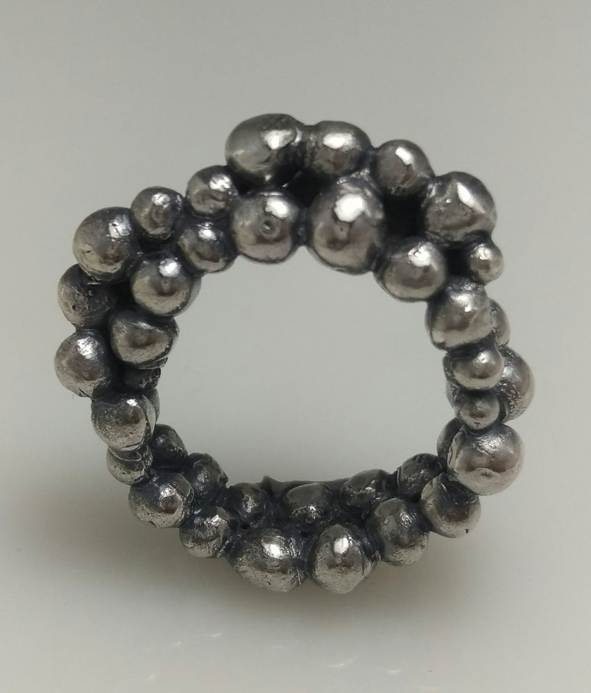 Image of Silver Bubble rings