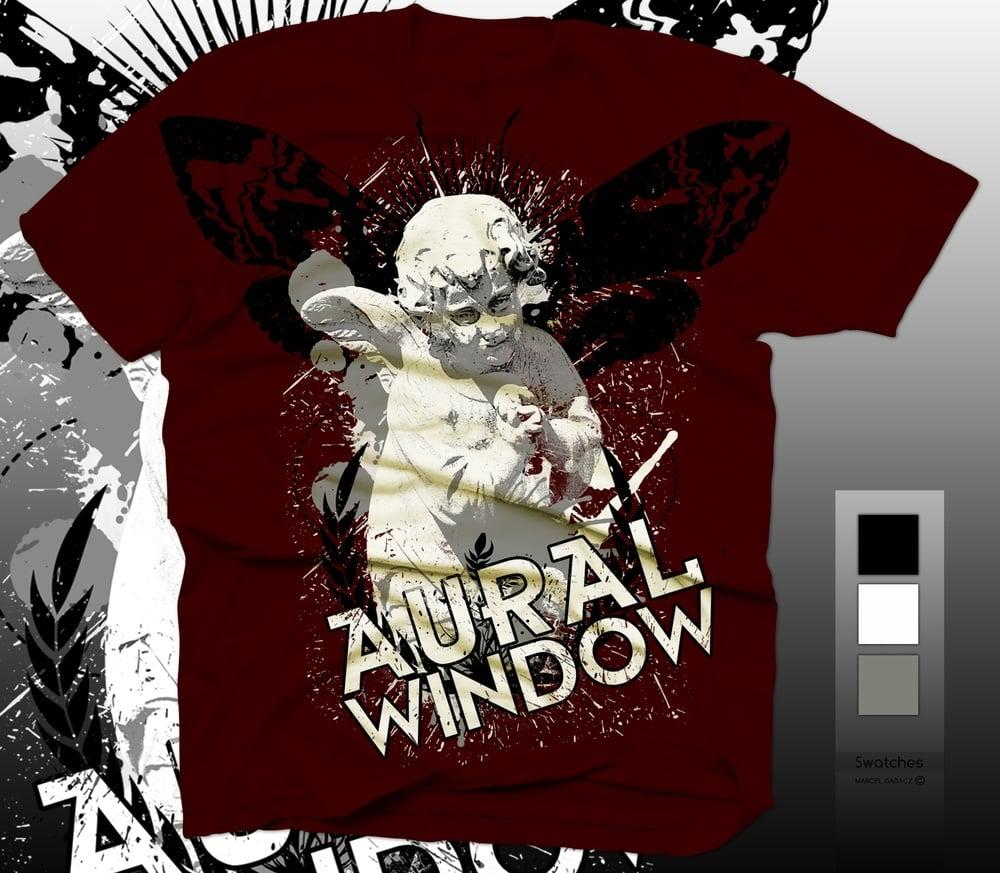 Image of Aural Window Red Cupid Tshirt