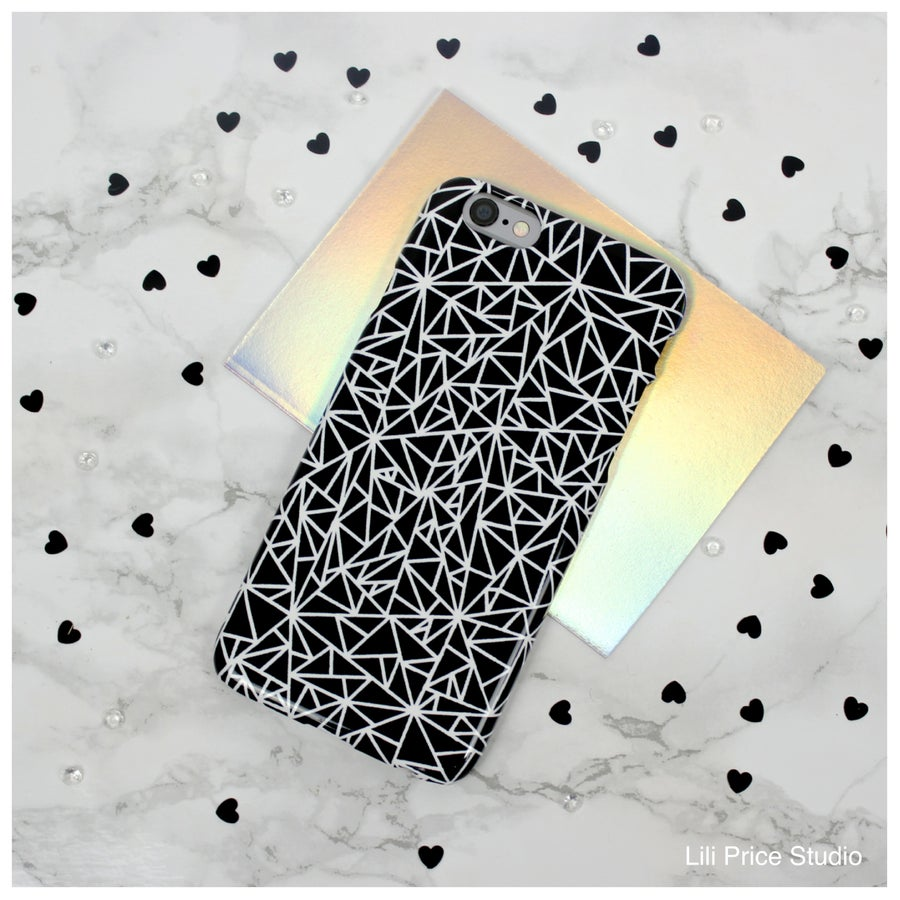 Image of Geometry Chaos Phone Case