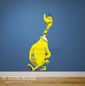 Image of Dr Seuss Sneetch wall decal wall sticker wall art