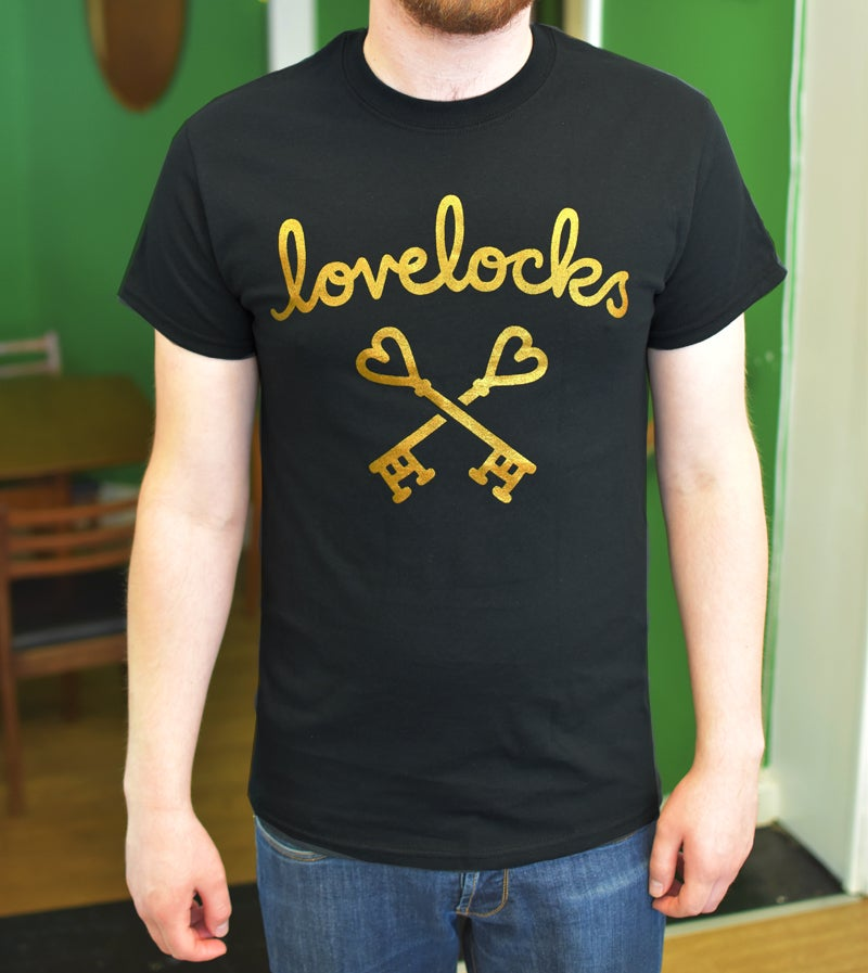 Image of Lovelocks Gold Logo Tshirt