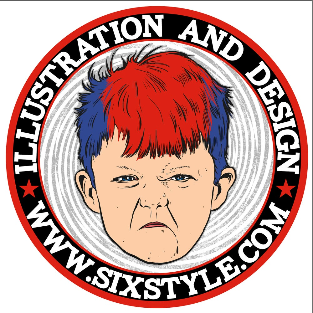 Image of Sixstyle Sticker 1