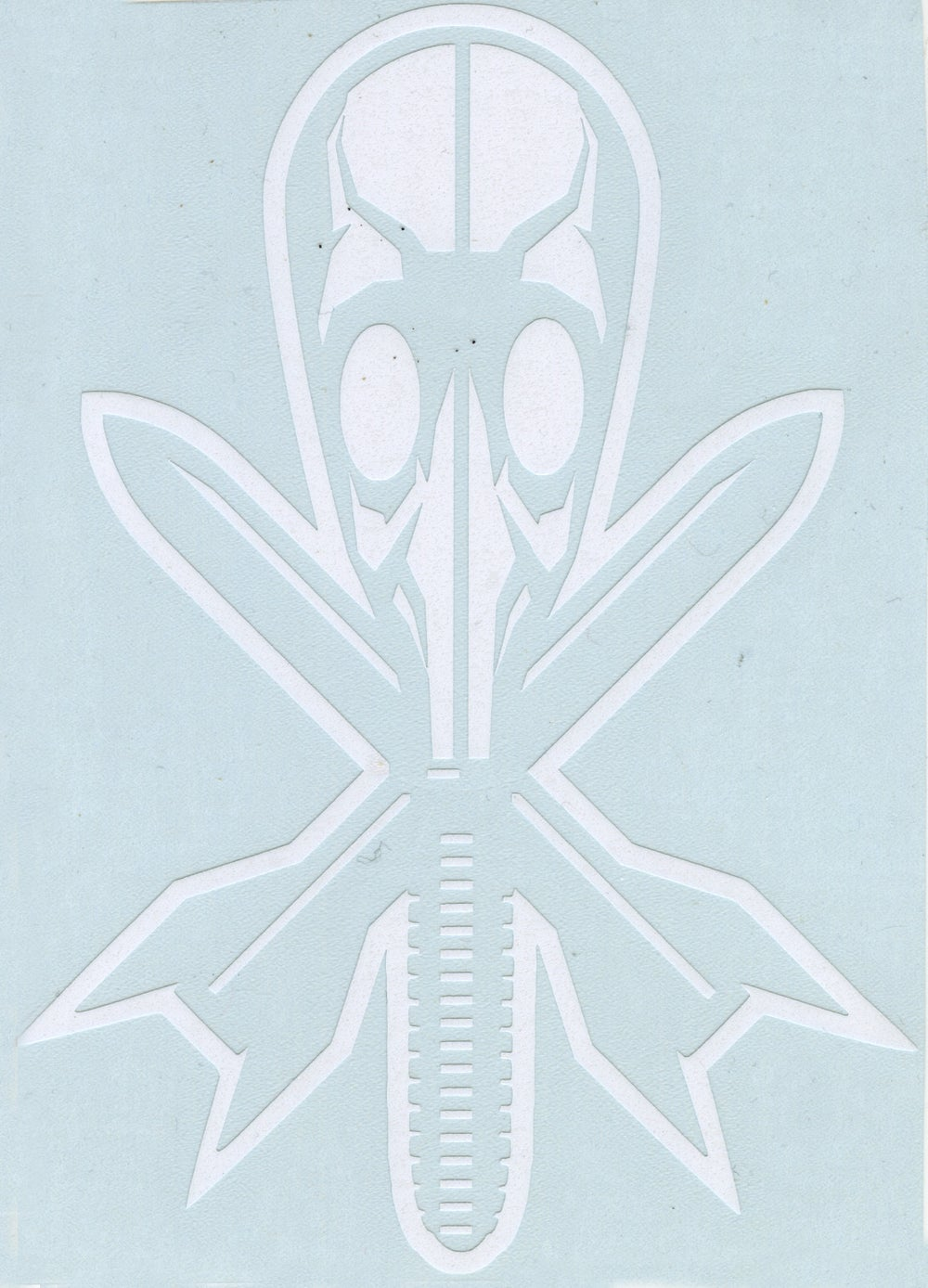 Gas Mask Die Cut Sticker
