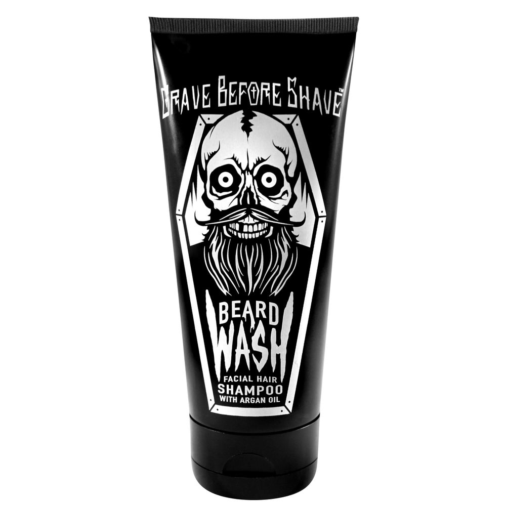 Image of GRAVE BEFORE SHAVE™  BEARD WASH SHAMPOO