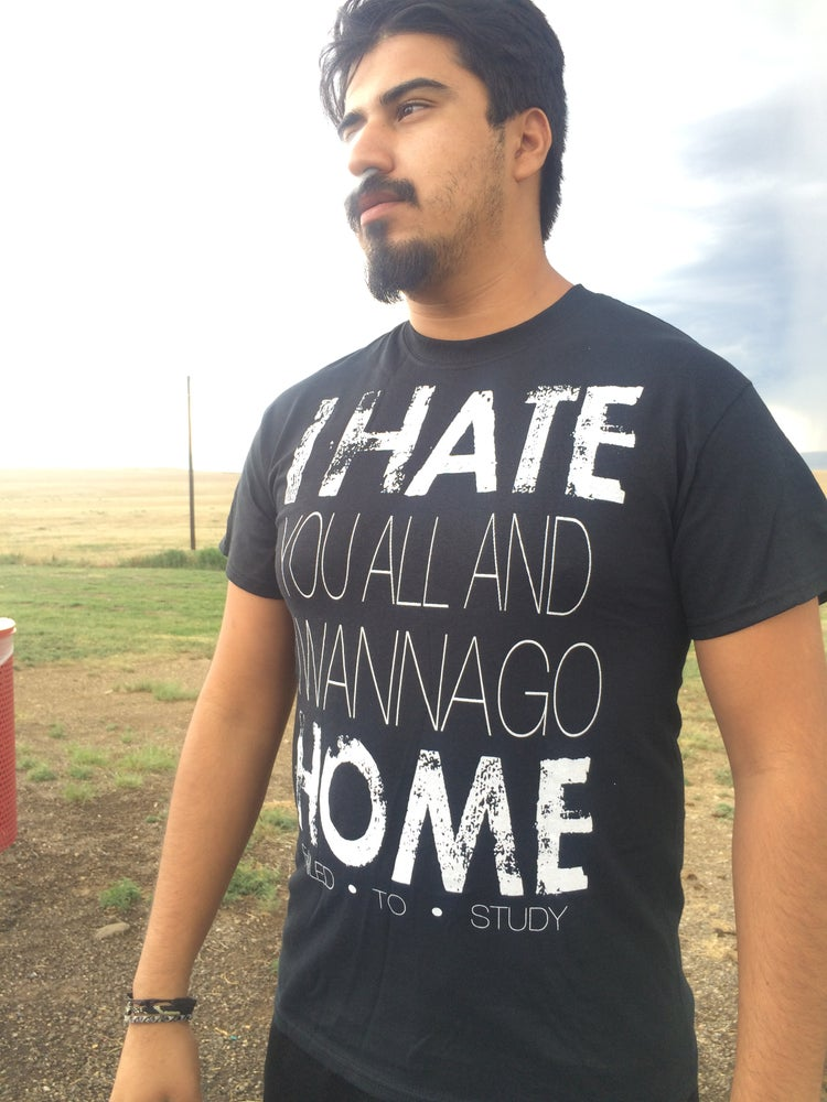 "Image of ""I Hate Home"" Tshirt"