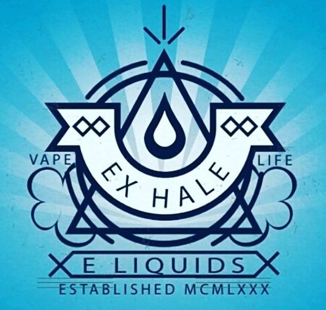 Image Of Vector Logo E Liquid Label Design
