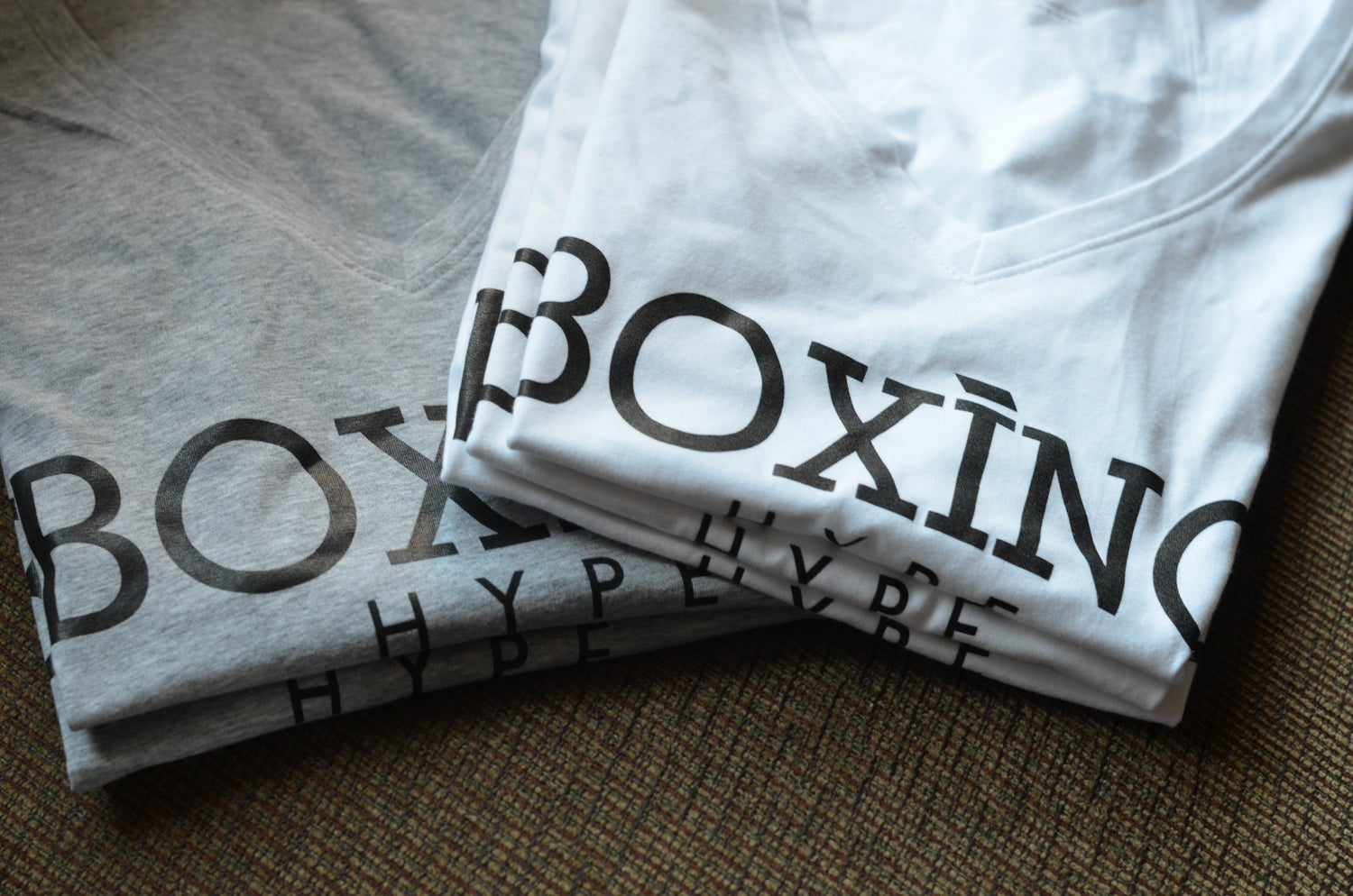 Image of Womens V-neck BoxingHype tees (2 Colors available)