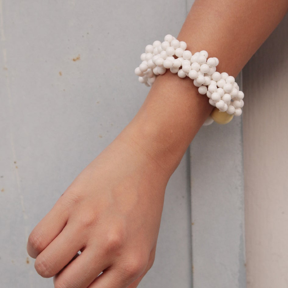 Image of Coral blowing up bracelet