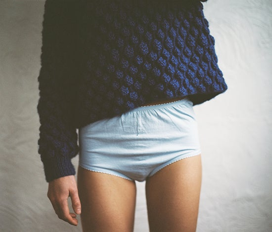 Image of Blueberry Cashmere Jumper