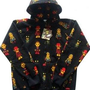 despair wear merch solution bape black marvel super heros hoodies