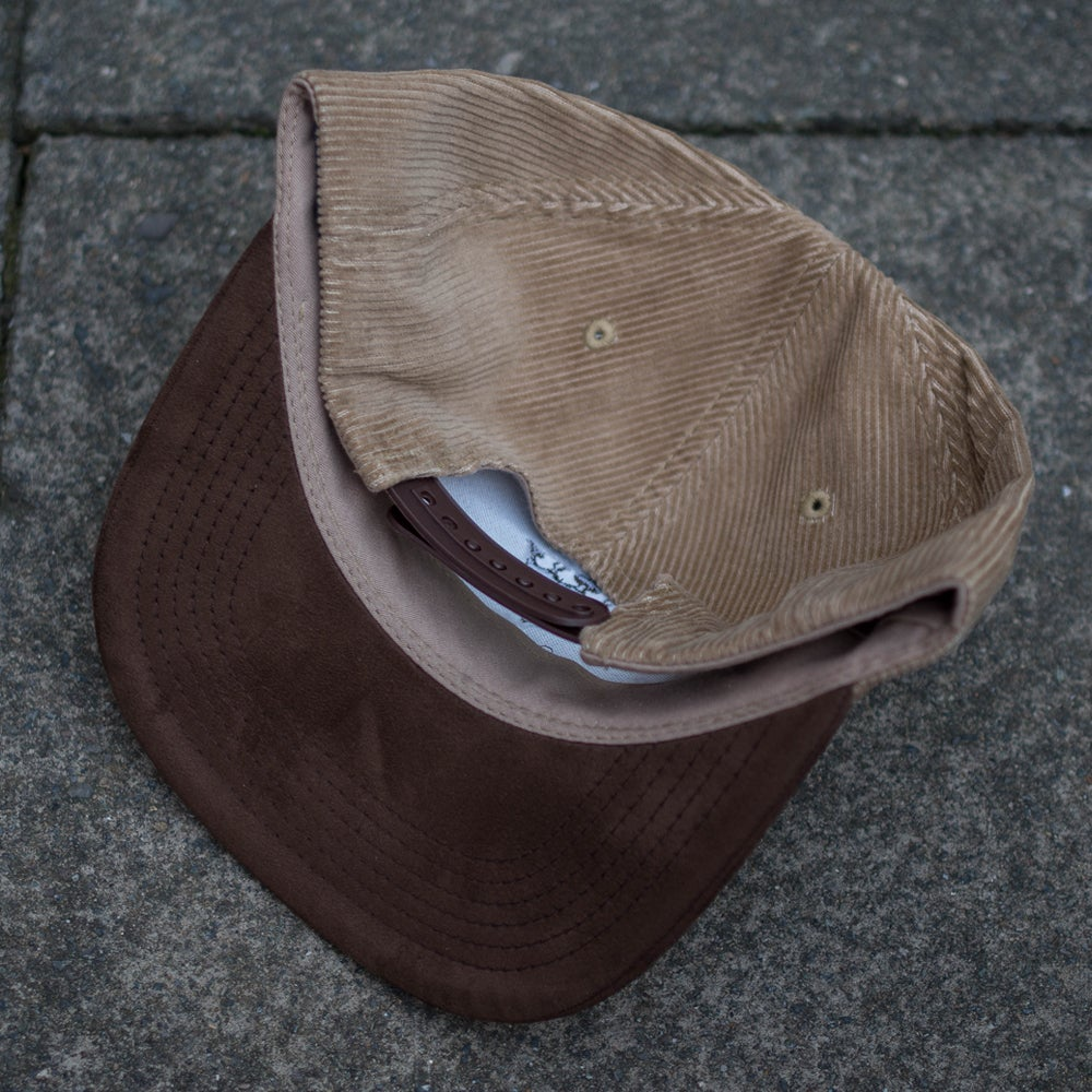 "Image of KNFB ""The Patriot"" Beige 6 Panel Cap"