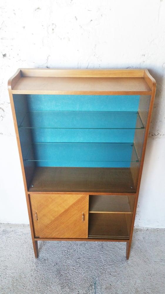 Image of Petite bibliothèque Vintage tapissée